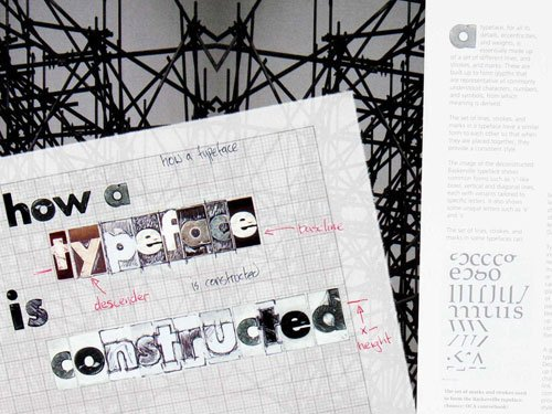 creative arts typeface
